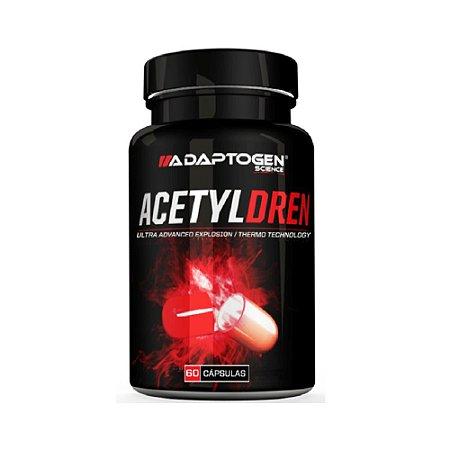 ACETYLDREN 60 Cápsulas - Adaptogen Science