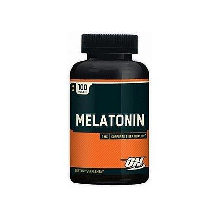 Melatonina 3mg 100 Cápsulas - Optimum Nutrition