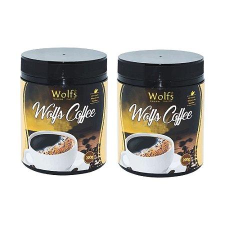 2x Café Termogênico 400g - Wolfs Coffee