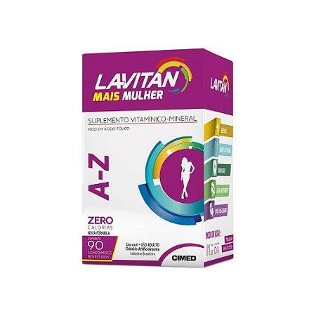 Lavitan MAIS A-Z Mulher 90 Cápsulas - CIMED
