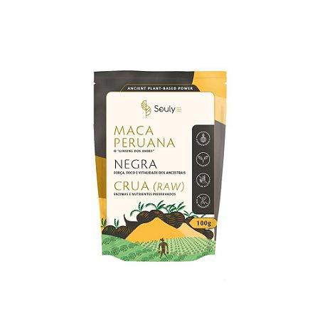 Maca Peruana Negra em pó 100g - Souly