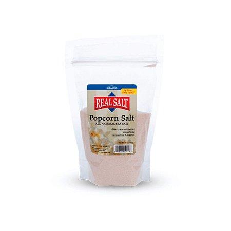 Sal Integral Extra-fino para pipoca Pacote 283g - Real Salt