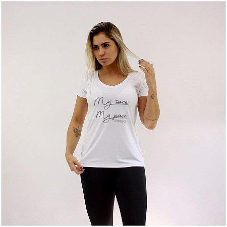 T-shirt Run White