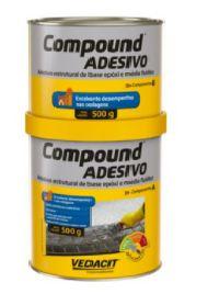ADESIVO COMPOUND MÉDIA FLUIDEZ A/B OTTO VEDACIT