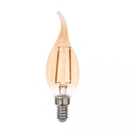 LAMPADA LED BLUMENAU FILAMENTO 2W 2200K E27 BIVOLT