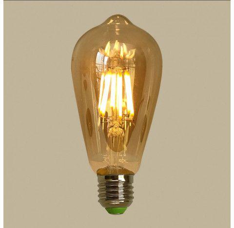 LAMPADA LED PERA BLUMENAU FILAMENTO 4W 2200K BIVOLT