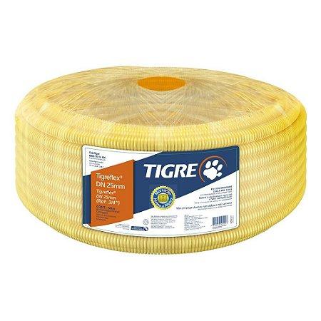 CONDUITE AMARELO TIGRE 3/4 ROLO 50 METROS