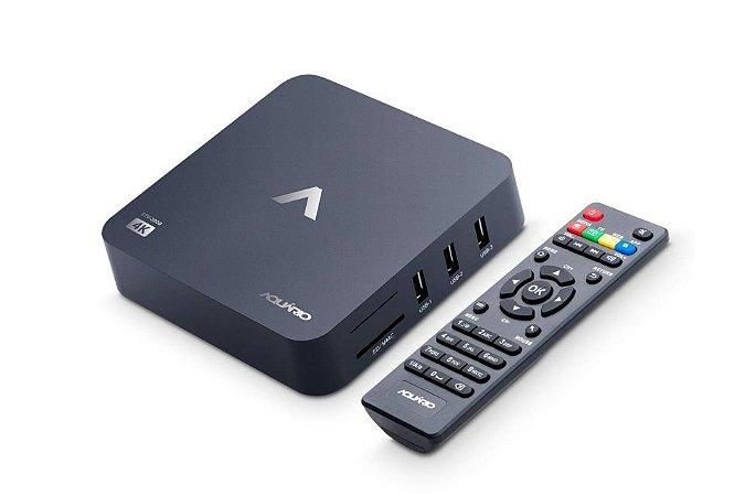 SMART TV BOX AQUARIO STV2000 4K