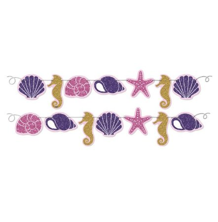 Faixa Decorativa Sereia - Maricota Festas