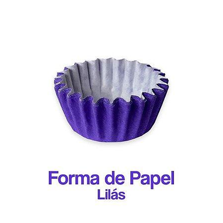 Forminha Nº05 Plac Lilás C/100 Unidades.