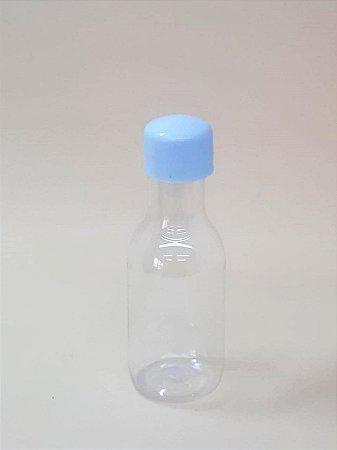 Garrafa Pet Plástica c/ 10 Unidades Azul claro - Maricota Festas