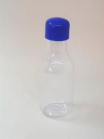 Garrafa Pet Plástica c/ 10 Unidades Azul Escuro - Maricota Festas
