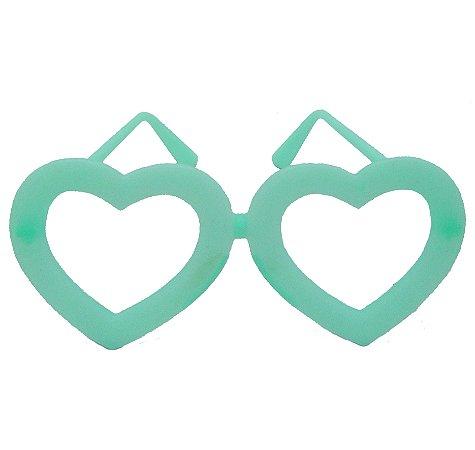 Óculos Brilha no Escuro Coração c/10 Unid. - Maricota Festas