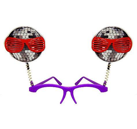 Óculos Balada com mola - Maricota Festas