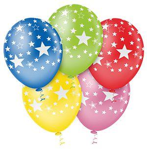 Balão Estrela Big Sortido PICPIC 10'' c/25 Unid. - Maricota Festas