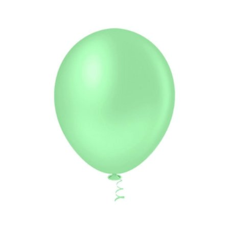Balão VERDE BABY PICPIC 9'' c/50 Unid. - Maricota Festas
