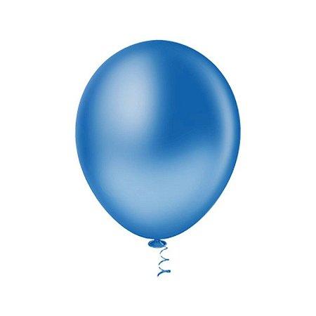 Balão AZUL ROYAL PICPIC 9'' c/50 Unid. - Maricota Festas