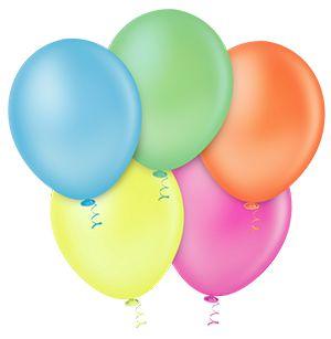 Balão Sortido Neon PICPIC 9'' c/50 Unid. - Maricota Festas