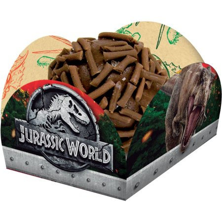 Porta Forminha Jurassic World c/40 Unid. - Maricota Festas