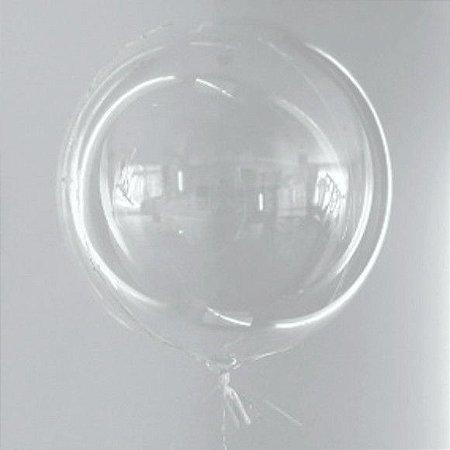 Balão Bubble 24'' polegadas C/100 Unidade - Maricota Festas
