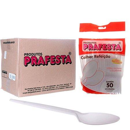 Colher Refeição cristal c/50 Unidades PRAFESTA - Maricota Festas