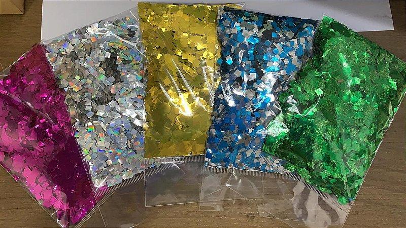Confete Para Balões - Brilho Para Bexiga 25 gramas
