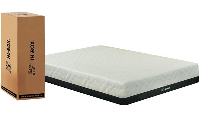 Colchão Express Comfort Encased Visco King Koil