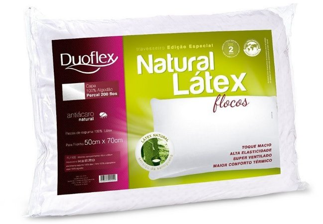 Natural Látex Flocos Duoflex