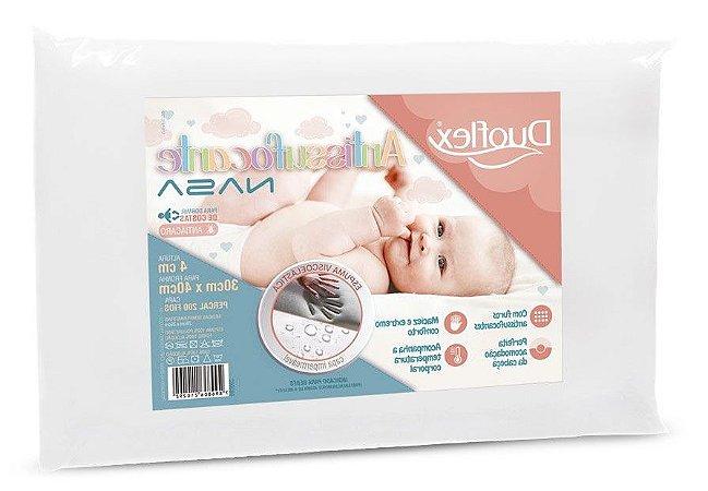 Travesseiro Infantil Antissufocante Nasa Duoflex
