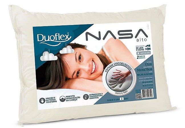 Travesseiro Nasa Alto Duoflex