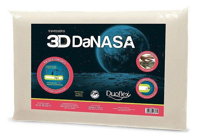 Travesseiro 3D DaNasa Baixo Duoflex