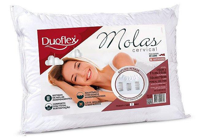 Travesseiro Molas Cervical Duoflex