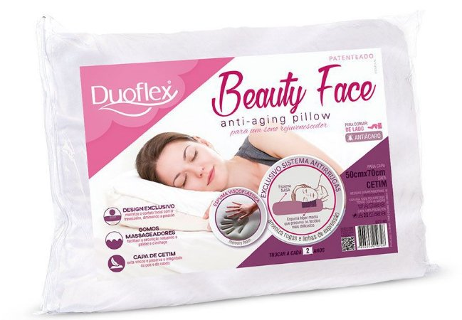 Travesseiro Beauty Face Duoflex