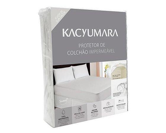 Protetor de Colchão Impermeável Kacyumara Queen