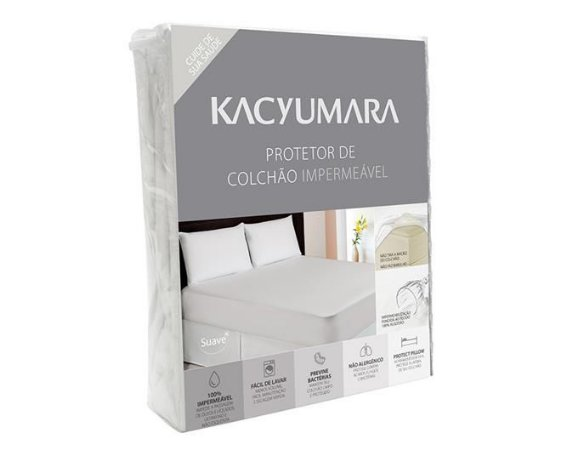 Protetor de Colchão Impermeável Kacyumara King