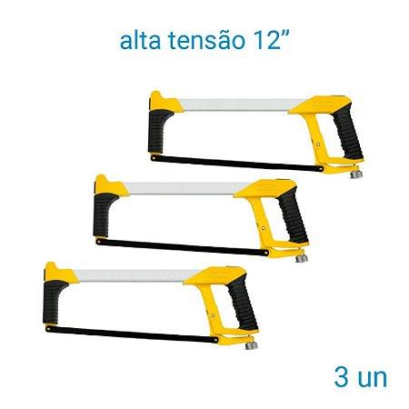 """Arco De Serra Alta Tensão 12"""" Noll - 3 Unidades"""