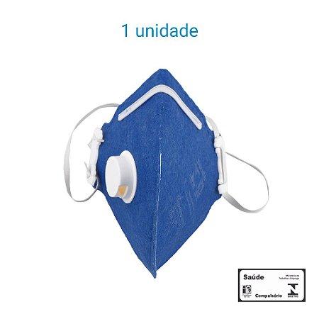 Máscara Respiratória PFF1 S Com Válvula - Carbografite CG 411V