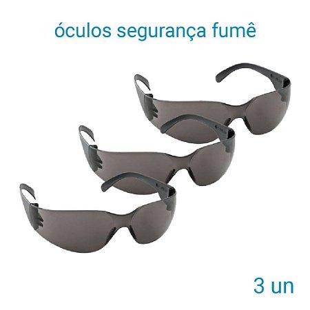 Óculos De Segurança Fumê Leopardo - 3 Unidades