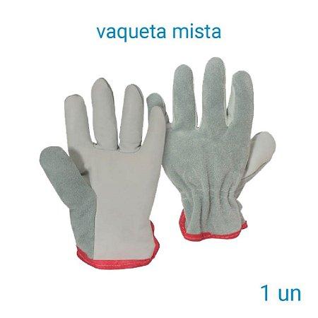 Luva Vaqueta Mista - 1 Par