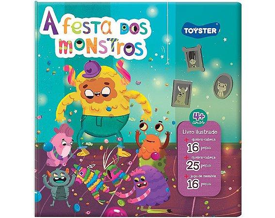 Livro Brinquedo – A Festa dos Monstros