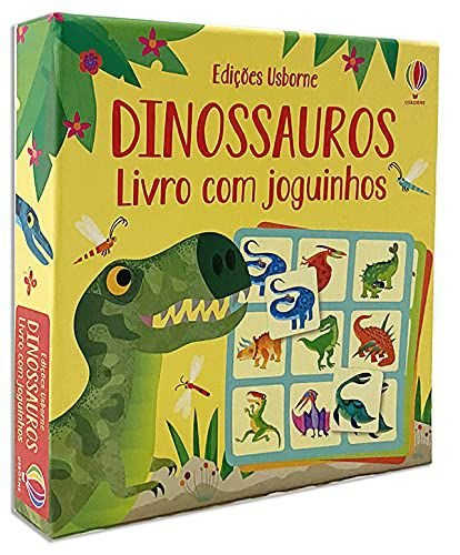 Dinossauros Livro com Joguinhos