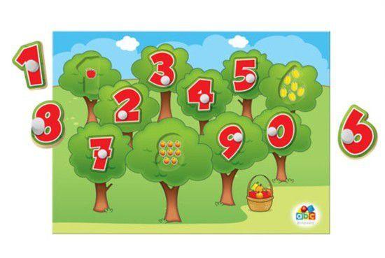 Quebra-cabeça - Conhecendo os Números