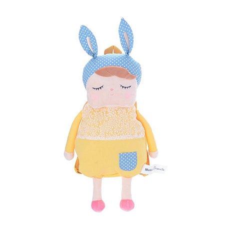 Mochila Metoo Doll Angela Clássica Amarela