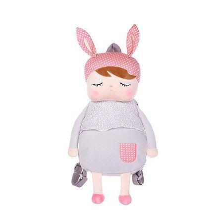 Mochila Metoo Doll Angela Clássica Cinza