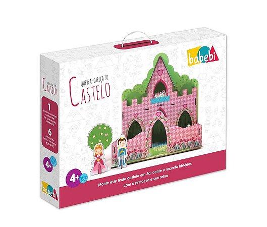Quebra-Cabeça 3D Castelo