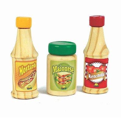 Ketchup, Mostarda e Maionese