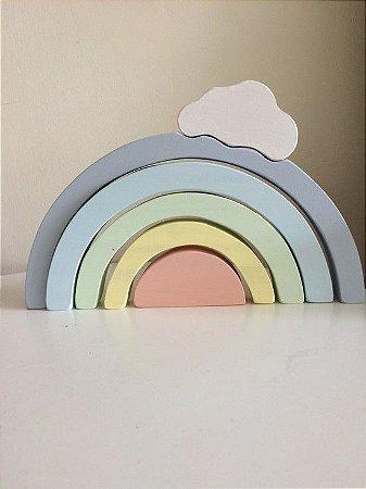 Arco-íris com Nuvem