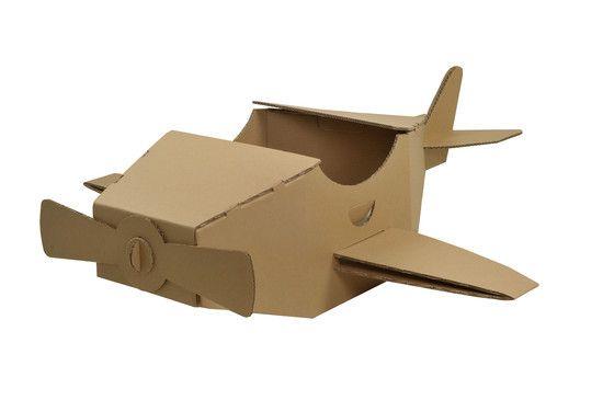 Avião de Papelão