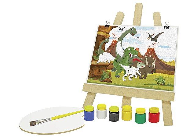 Kit de pintura - Dinossauros