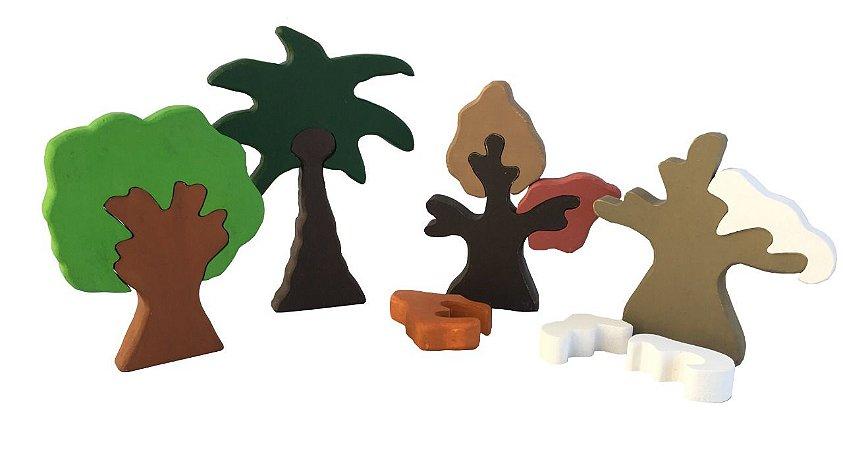 Conjunto de Árvores 4 Estações